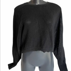 MICHAEL KORS black Long sleeve sweater, size M